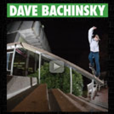 Dave Bachinsky Always on the Grind