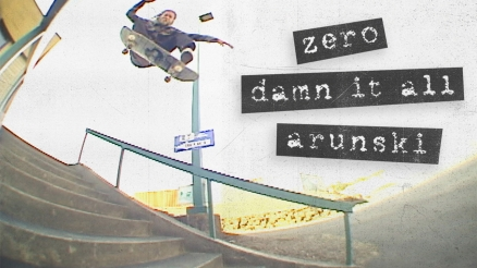 "Adam Arunski's ""Damn It All"" Zero Part"