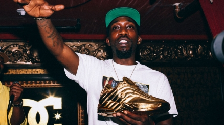 Stevie Williams Shoe Release Party Photos