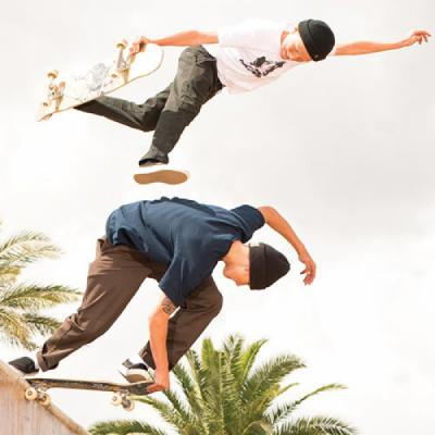 Cedric and Roman Pabich for Bronson Speed Co.
