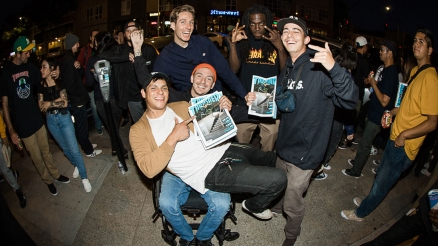 """Verso"" Premiere at Atlas Skateshop"