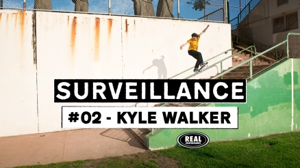 "REAL's ""Surveillance #2 Kyle Walker"" Video"