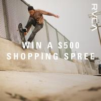 RVCA $500 Giftcard Giveaway