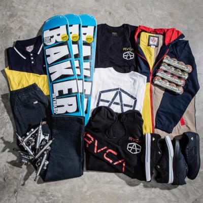 Andrew Reynolds RVCA Collection Giveaway
