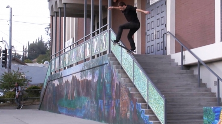 "Nate Greenwood's ""Indy Raw Ams"" Part"