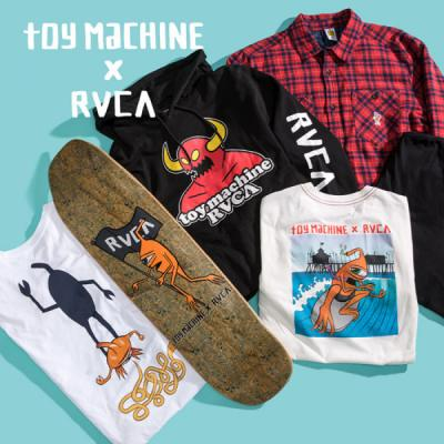 Toy Machine x RVCA Giveaway