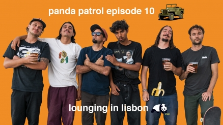Panda Patrol 10: Lounging in Lisbon