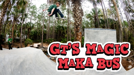 "GT'S ""Magic Maka Bus"" Video"