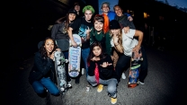 "Skate Like A Girl's ""Wheels of Fortune 9"" Photos"