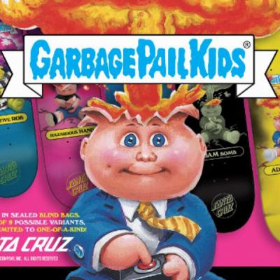 Santa Cruz x Garbage Pail Kids