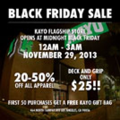 Kayo Black Friday Sale