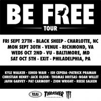 "REAL's ""Be Free"" Tour"