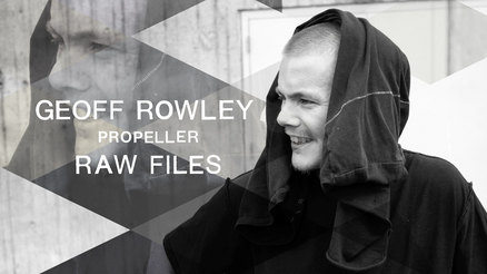 "Geoff Rowley's ""Propeller"" RAW FILES"
