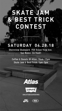 Atlas Skate Jam and best Trick Contest