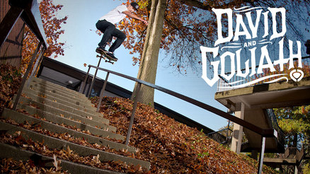 "David Gravette's ""David and Goliath"" Part"