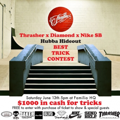 Hubba Hideout Contest