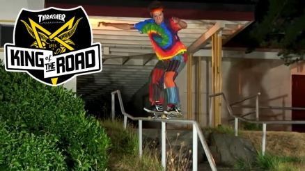 King of the Road 2015: Nailing the Kinky Rail