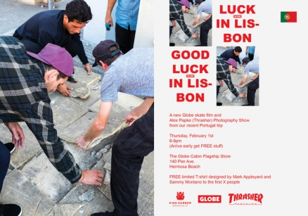 "<span class='eventDate'>February 01, 2018</span><style>.eventDate {font-size:14px;color:rgb(150,150,150);font-weight:bold;}</style><br />Globe's ""Good Luck in Lisbon"" Premiere"