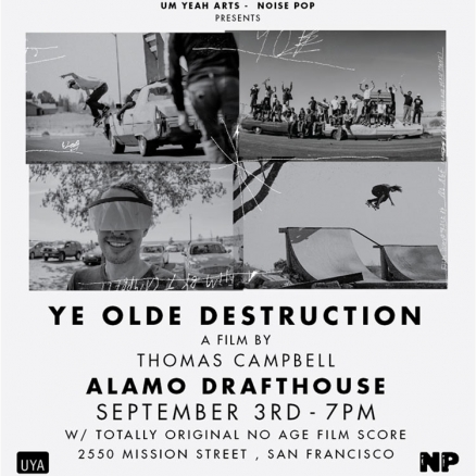 <span class='eventDate'>September 03, 2019</span><style>.eventDate {font-size:14px;color:rgb(150,150,150);font-weight:bold;}</style><br />Thomas Campbell&#039;s &quot;Ye Old Destruction&quot; Premiere