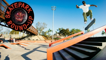 Skatepark Round-Up: Nike SB Young Guns