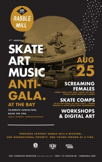 Skate Art Music Anti-Gala