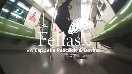 "Hélas' ""Fellas: A Cappella Peacock and Devine"" Video"