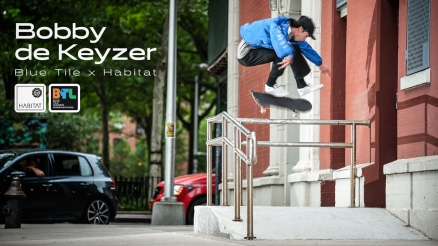 "Bobby de Keyzer's ""Blue Tile Lounge x Habitat"" Part"