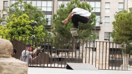 "Tiago Lemos' ""Crupie Wheels"" Part"
