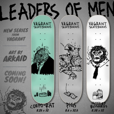 "Vagrant's ""Leaders of Men"" Board Series"