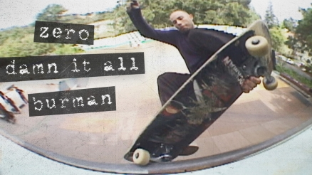 "Dane Burman's ""Damn It All"" Zero Part"