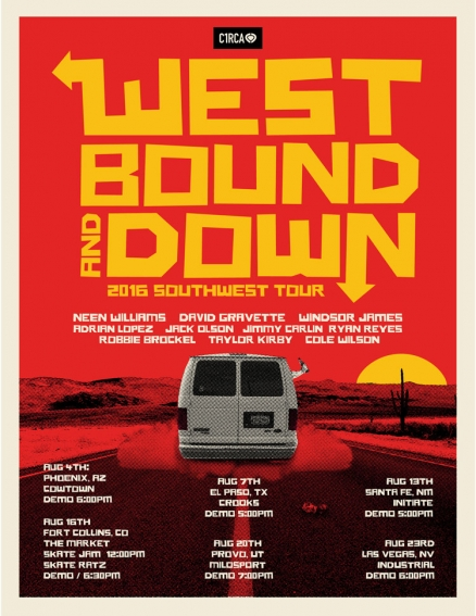 "C1RCA's ""West Bound and Down"" Tour"