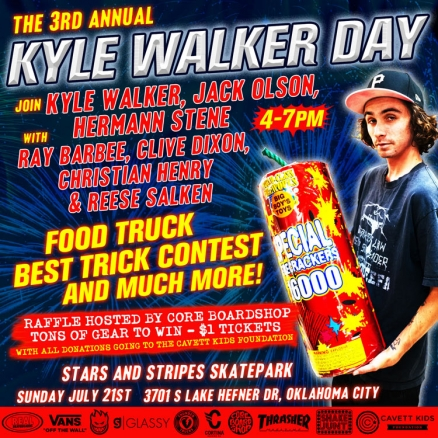 3rd Annual Kyle Walker Day