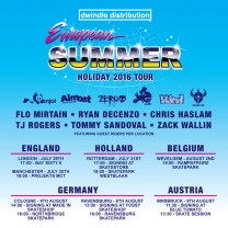 Dwindle Summer European Tour