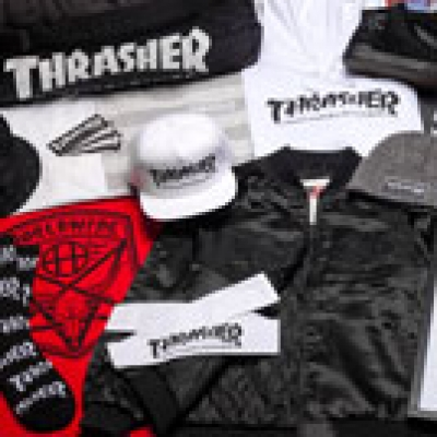 Win Huf x Thrasher Gear