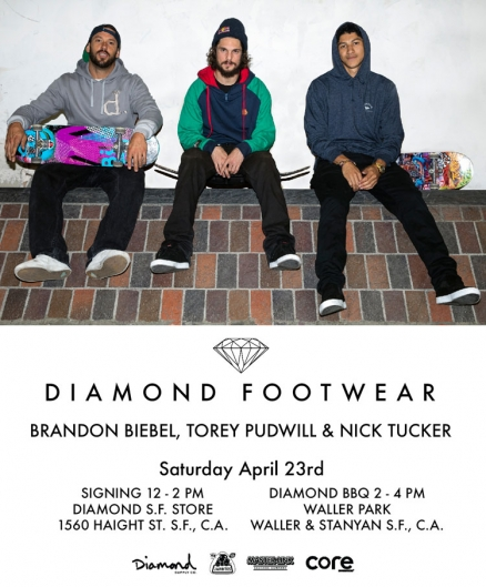 <span class='eventDate'>April 23, 2016</span><style>.eventDate {font-size:14px;color:rgb(150,150,150);font-weight:bold;}</style><br />Diamond Footwear Signing