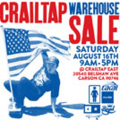 Crailtap Warehouse Sale