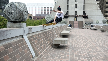"Rough Cut: Jarne Verbruggen's ""Never Skatebored"" Part"