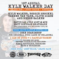 1st Annual Kyle Walker Day