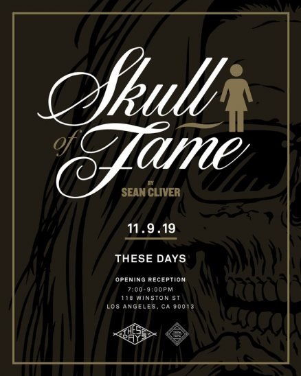 "Sean Cliver's ""Skull of Fame"" Art Show"