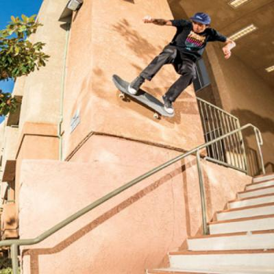 Milton Martinez for Independent Trucks