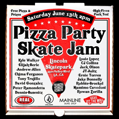 Pizza Party Skate Jam