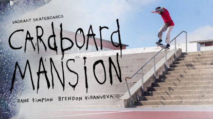 "Zane Timpson and Brendon Villanueva's ""Cardboard Mansion"" Part"