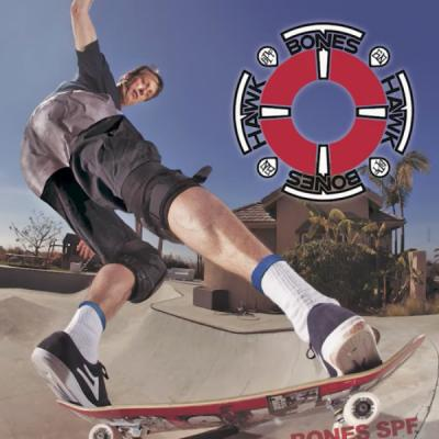 Behind Tony Hawk's Bones Ad
