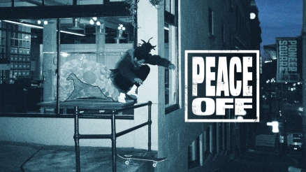 "Alex Cooper's ""PEACE OFF"" Video"