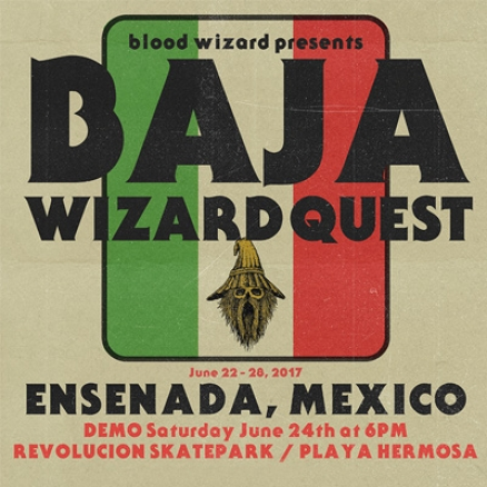 <span class='eventDate'>June 24, 2017</span><style>.eventDate {font-size:14px;color:rgb(150,150,150);font-weight:bold;}</style><br />Wizard Quest: Baja