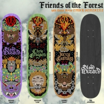 "Blood Wizards ""Friends of the Forest"" Series"
