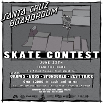 Santa Cruz Boardroom Contest