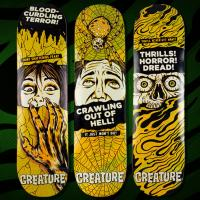 "Creature's ""Horror Feature"" Board Series"
