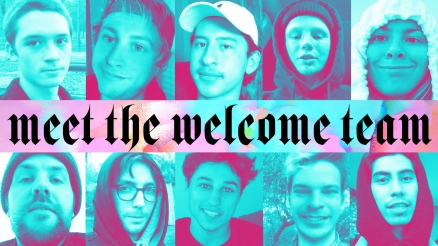 Meet the Welcome Team