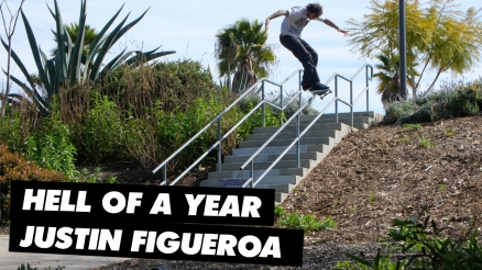 "Hell of a Year: Justin ""Figgy"" Figueroa"
